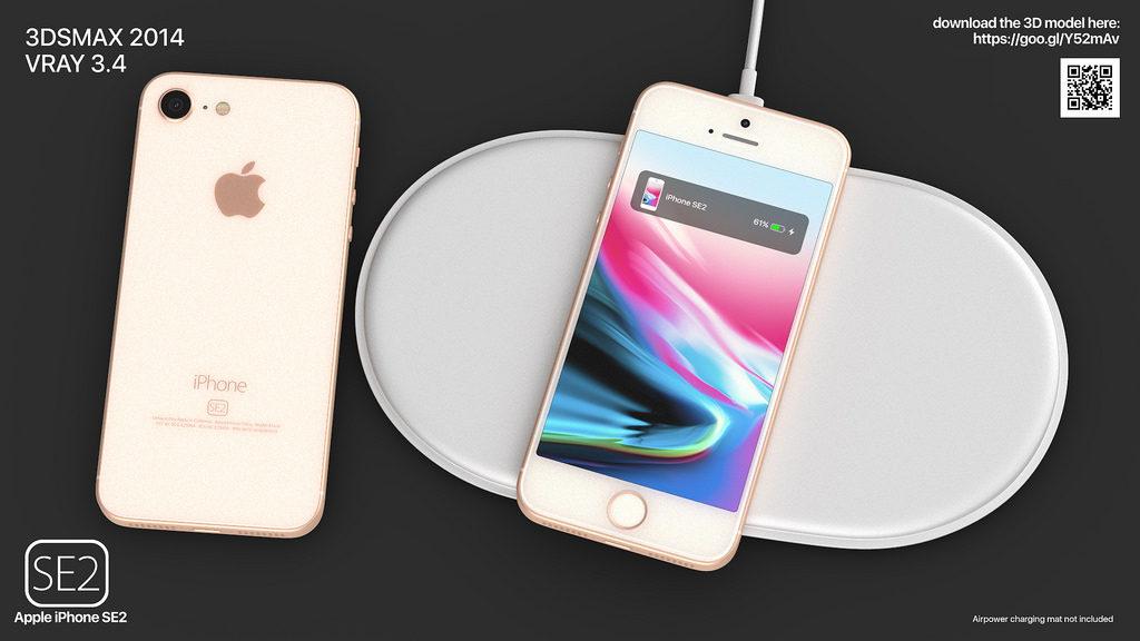 iphone se 2 martin hajek concept 3 1024x576 - iPhone SE2 : un concept reprenant des traits de l'iPhone 8