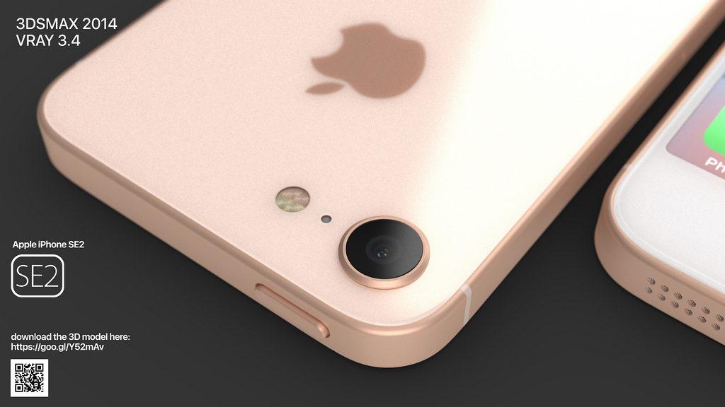 iphone se 2 martin hajek concept 4 1024x576 - iPhone SE2 : un concept reprenant des traits de l'iPhone 8