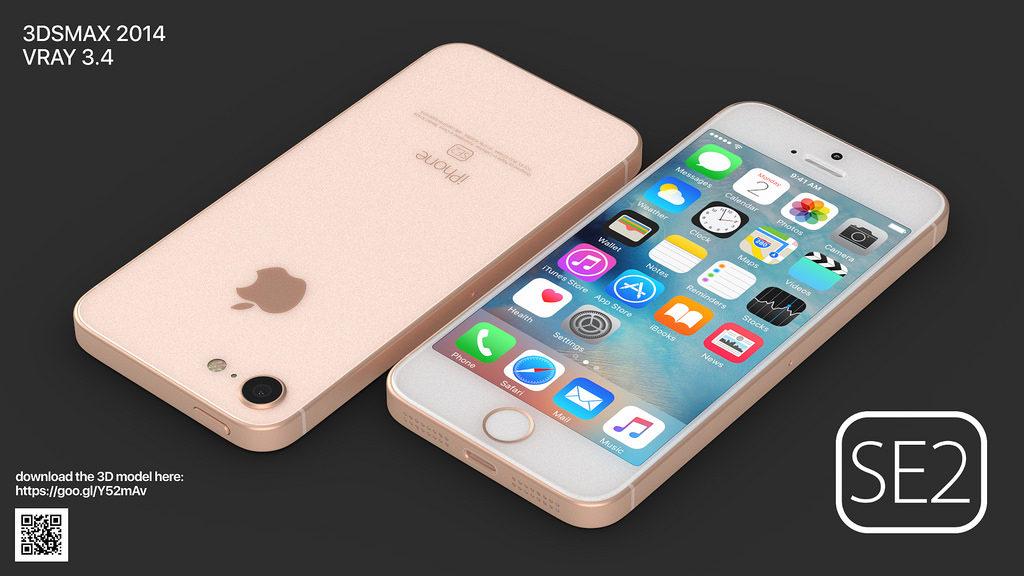 iphone se 2 martin hajek concept 5 1024x576 - iPhone SE2 : un concept reprenant des traits de l'iPhone 8