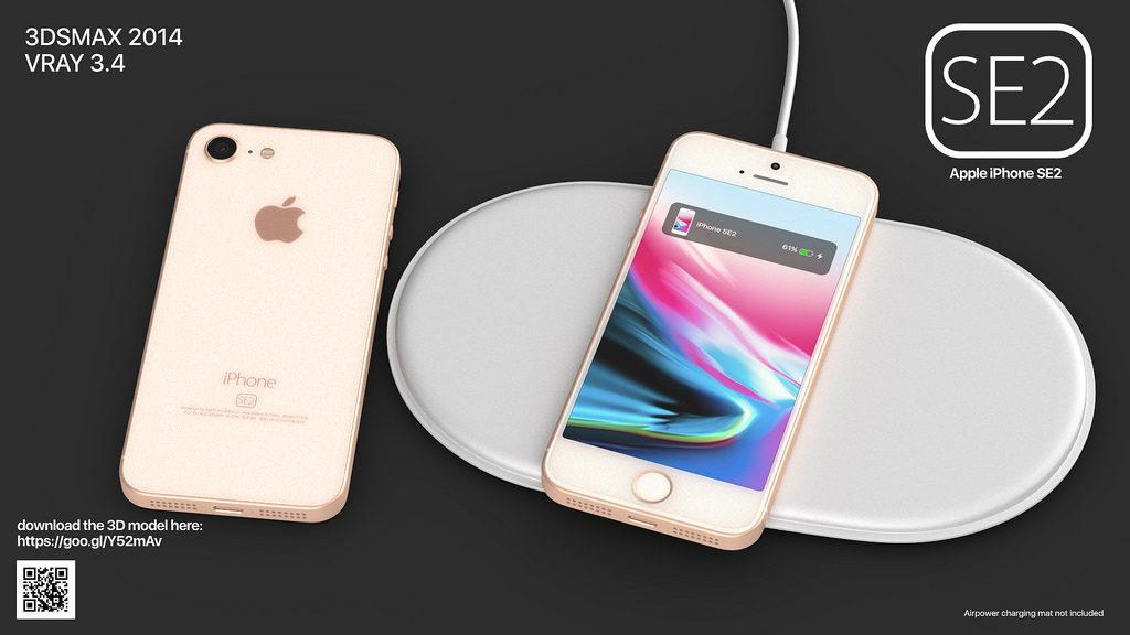 iphone se 2 martin hajek concept 6 1024x576 - iPhone SE2 : un concept reprenant des traits de l'iPhone 8