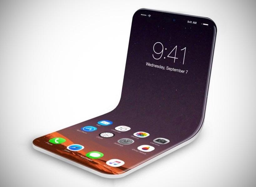 iphone x pliable - iPhone : des modèles pliables au programme pour 2020 ?