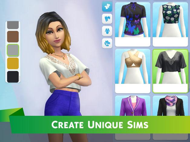 Jeu du jour : Les Sims Mobile (iPhone & iPad – gratuit)