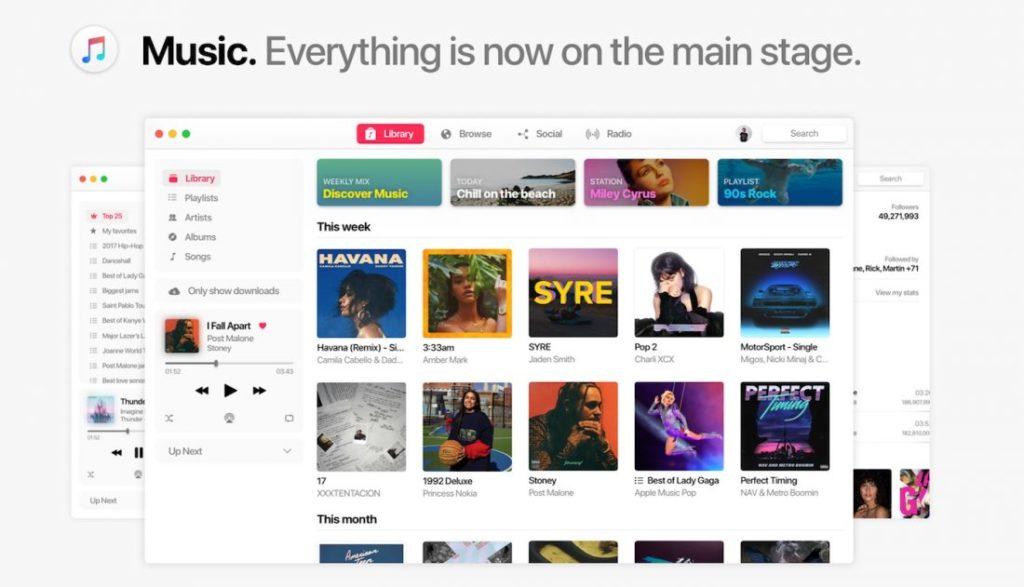 macOS 11 Concept Application Musique 1100x631 1024x587 - macOS 11 : un concept imagine les potentielles nouveautés
