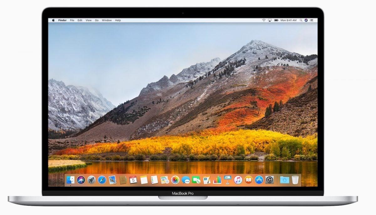 macOS High Sierra MacBook Pro - macOS 10.13.4 est disponible : quelles nouveautés ?