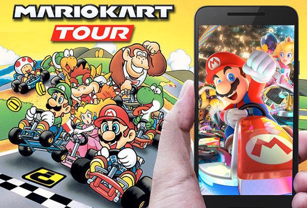 mario kart tour - Mario Kart Tour adoptera bien le format freemium sur iOS & Android
