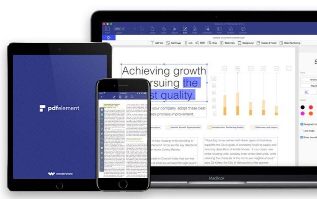 pdfelement 1024x645 - PDFelement : un puissant éditeur PDF sur iOS & Android