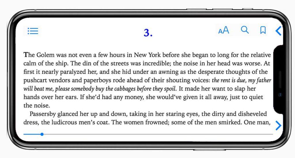 smartphone iphone x lire 1024x548 - Réflexion : les smartphones sont-ils réellement faits pour lire ?