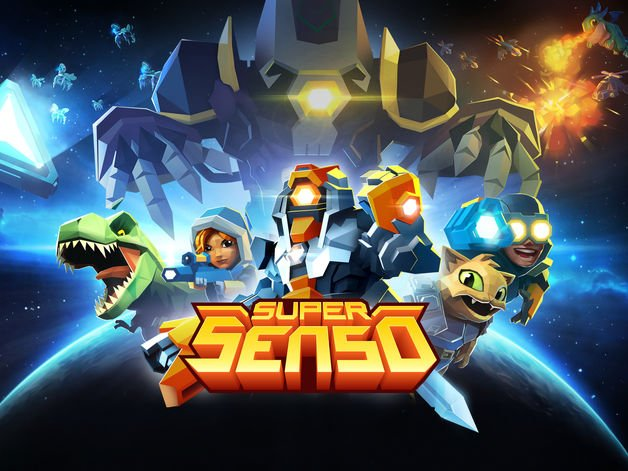 Jeu du jour : Super Senso, batailles stratégiques SF (gratuit)