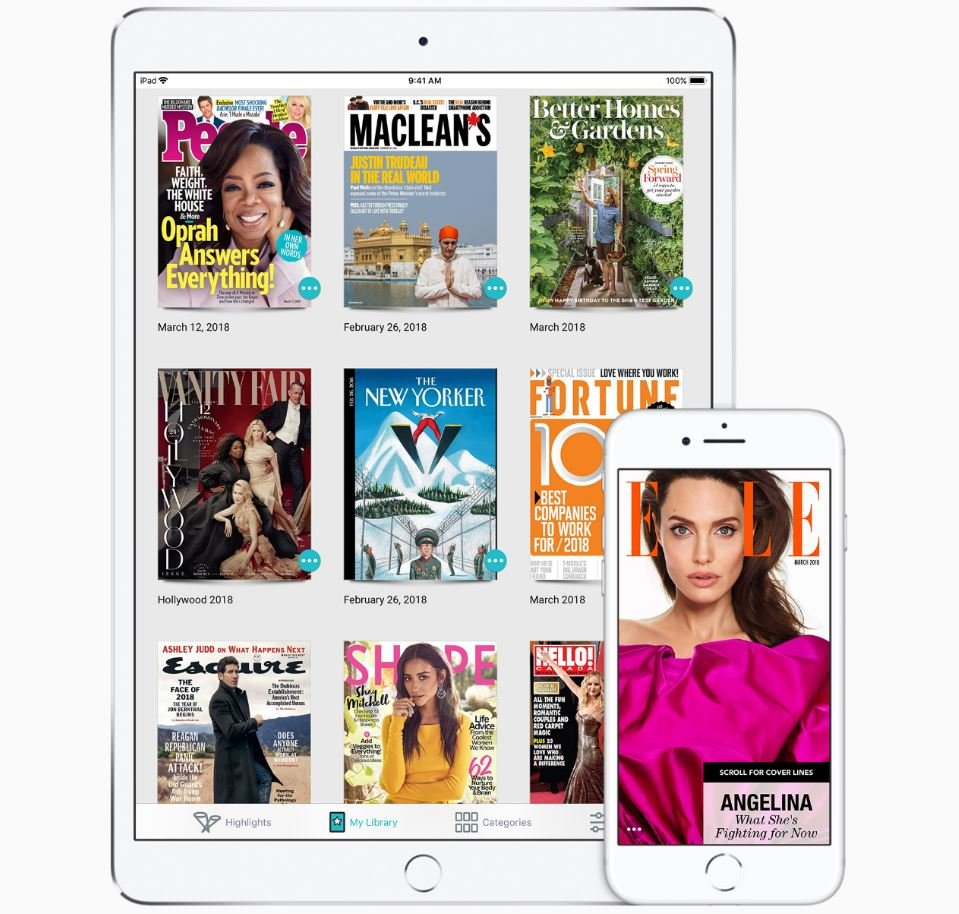 texture apple netflix magazines - Apple lancerait son Netflix des magazines au printemps 2019