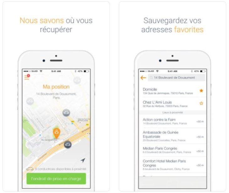 Femme au volant : l'app de VTC au féminin