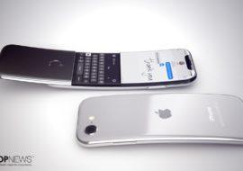 Concept : un iPhone incurvé à clapet imaginé par Martin Hajek