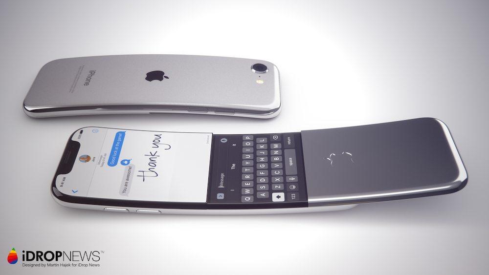 Curved iPhone Concept iDrop News x Martin Hajek 3 - Concept : un iPhone incurvé à clapet imaginé par Martin Hajek