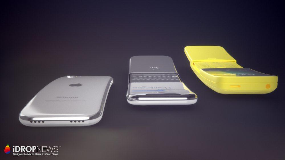 Curved iPhone Concept iDrop News x Martin Hajek 8 - Concept : un iPhone incurvé à clapet imaginé par Martin Hajek