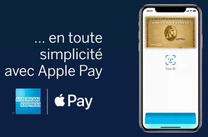 Apple Pay supporte désormais les cartes American Express