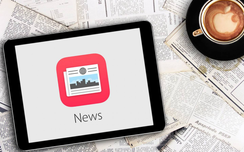 """Apple News : une formule payante """"illimitée"""" au programme ?"""
