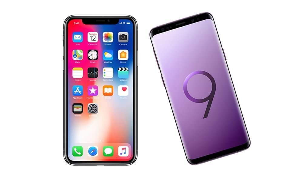 samsung galaxy s9 vs iphone x - Consumer Reports : les Galaxy S9 & S9+ mieux notés que l'iPhone X