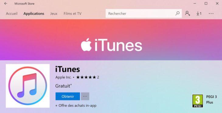 Microsoft se rapproche d'Apple, iTunes disponible sur le Microsoft Store