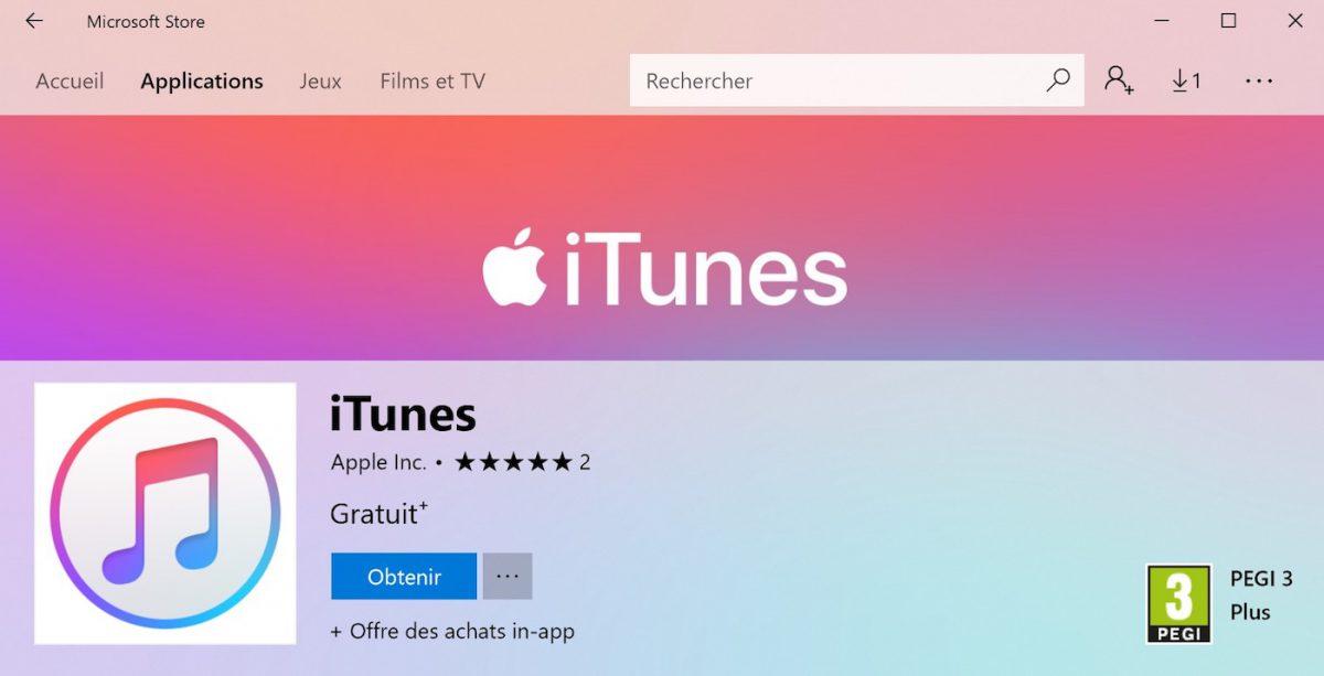 itunes disponible sur microsoft store - Microsoft se rapproche d'Apple, iTunes disponible sur le Microsoft Store
