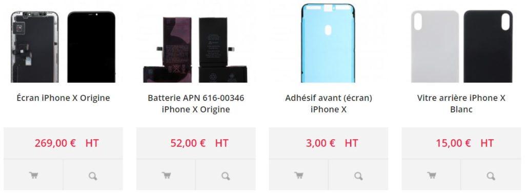 pieces2mobile com iphone x 1024x381 - Pieces2mobile.com : le n°1 des pièces détachées pour appareils mobiles en Europe