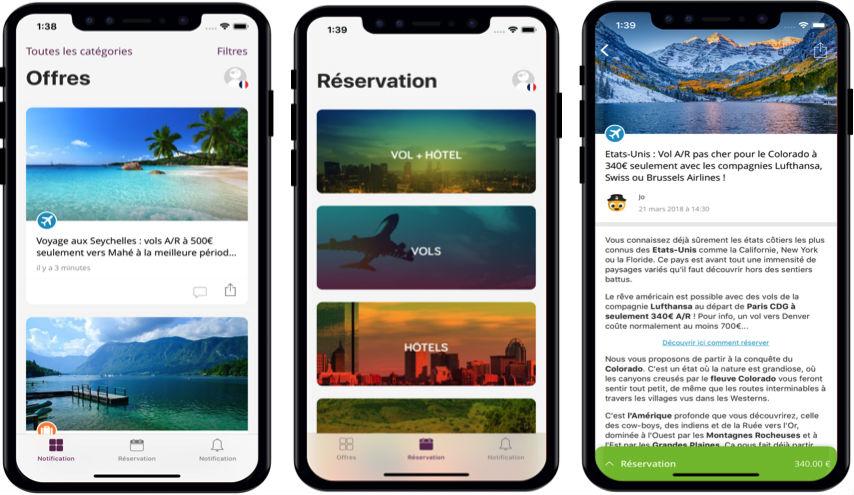 VoyagesPirates iPhone - Voyages Pirates lance la nouvelle version de son application mobile