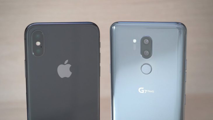 iPhone X vs LG G7 ThinQ : comparatif des performances photo & vidéo