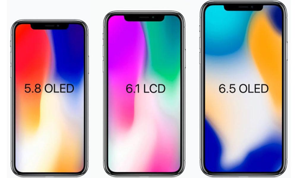 iphone 2018 iphone x - iPhone de 2018 : pas de 3D Touch sur le modèle LCD de 6,1 pouces ?