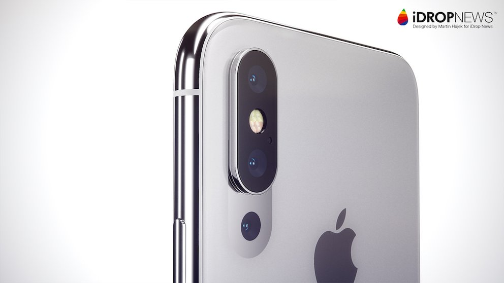 iphone triple camera - Un triple capteur photo sur l'iPhone XI Max selon le Wall Street Journal