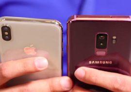 Galaxy S9 vs iPhone X : quelles performances pour les gamers ?