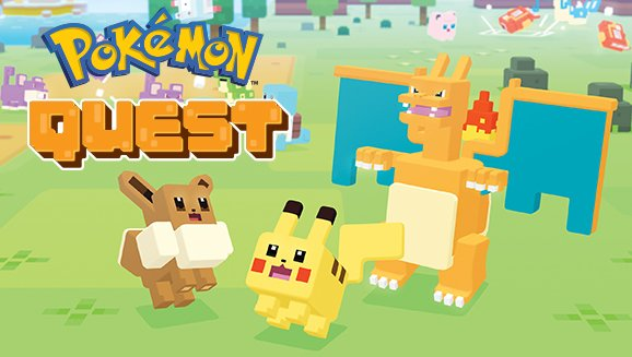 Pokémon Quest est disponible sur iOS & Android