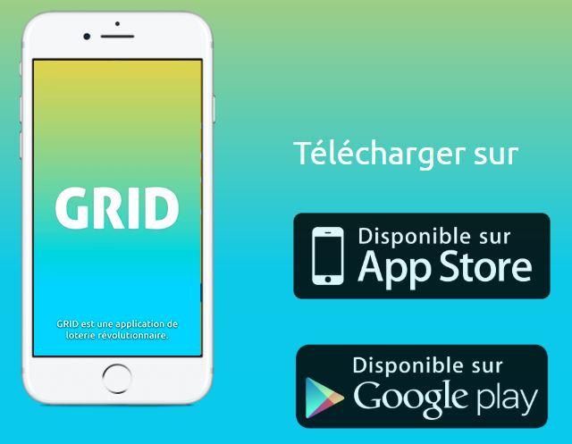 GRIDZ - GRIDZ : l'app de loterie révolutionnaire, 10 000€ à gagner chaque jour !