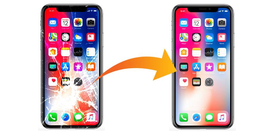 iphone x ecran casse reparation - Réparation d'écran iPhone : quelles sont les différentes solutions ?