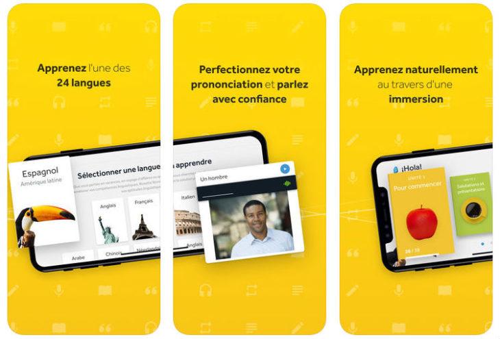 App du jour : Rosetta Stone : Cours de langue (iPhone & iPad – gratuit)