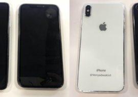 iPhone de 2018 : des photos de modèles 6,1 & 6,5 pouces factices