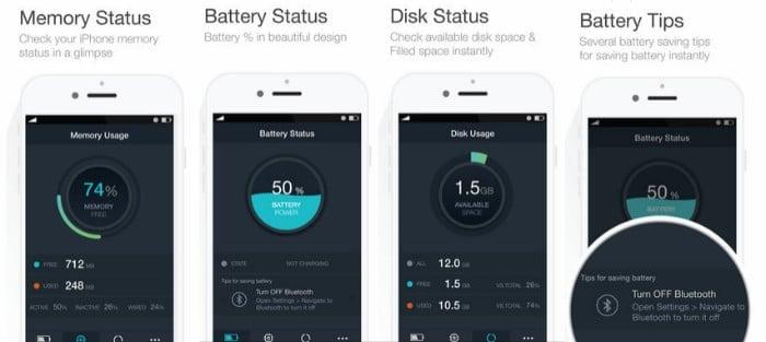 Battery Saver - 5 apps pour booster la batterie de votre iPhone