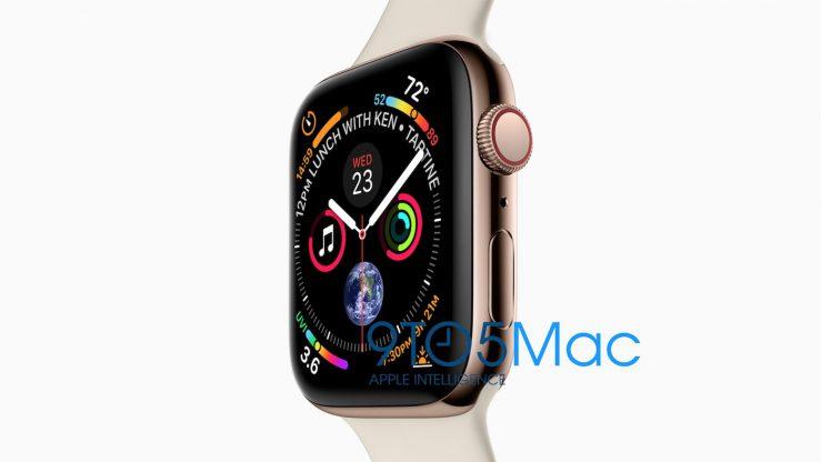 Fuite Apple Watch Series 4 739x416 - Apple fait fuiter les iPhone XS 5,8/6,5 pouces & l'Apple Watch 4