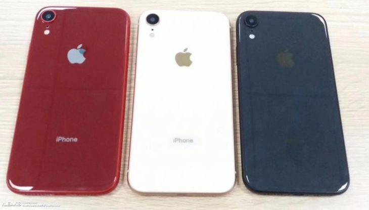 L'iPhone LCD 6,1 pouces proposé en bleu, blanc & rouge ?? ?