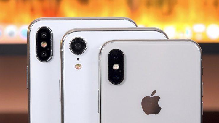 Maquettes Trois iPhone 2018 739x416 - iPhone Xs, iPhone Xs Max & iPhone LCD : les prix dévoilés ?