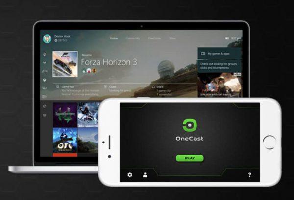 OneCast 600x407 - OneCast : l'app pour jouer aux jeux Xbox One sur iPhone !