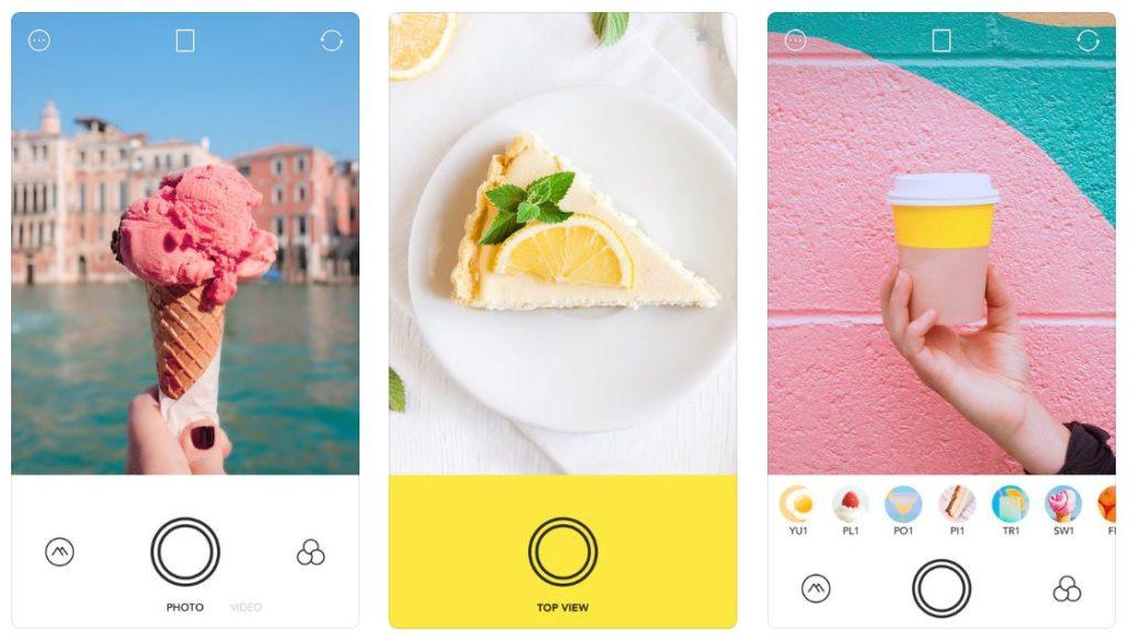 App du jour : Foodie - Caméra pour la vie (iPhone - gratuit)