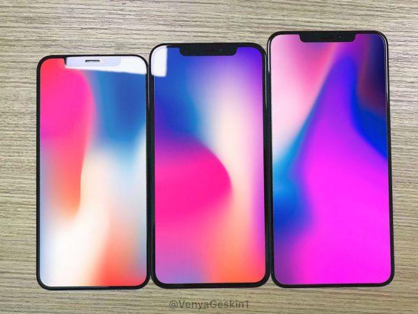 iPhone X facade Leak 1 600x450 - iPhone X 2018 : meilleur APN et processeur plus rapide ?