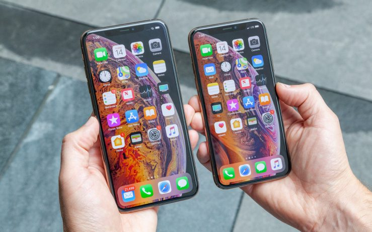 iPhone XS vs iPhone XS Max Or Avant Prise en Main 739x462 - iPhone XS, XS Max & XR : quelles RAM & capacités de batteries ?