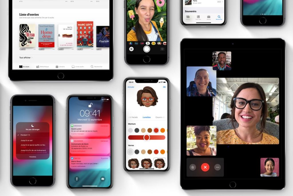 ios 12 Apple 1024x684 - iOS 12, watchOS 5 & tvOS 12 : versions Golden Master (GM) disponibles