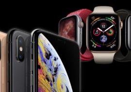 Les iPhone XS, XS Max & l'Apple Watch Series 4 disponibles à l'achat