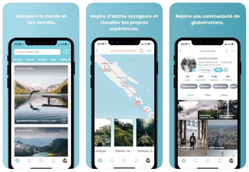mapify 1024x707 - App du jour : Mapify - Your Travel Companion (iPhone - gratuit)