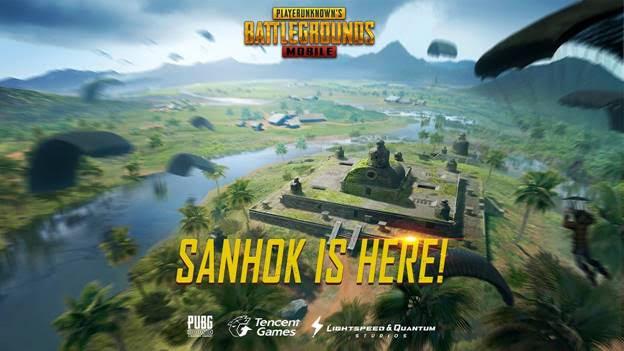 PUBG Mobile : ajout de la carte Sanhok, nouvelles armes et plus