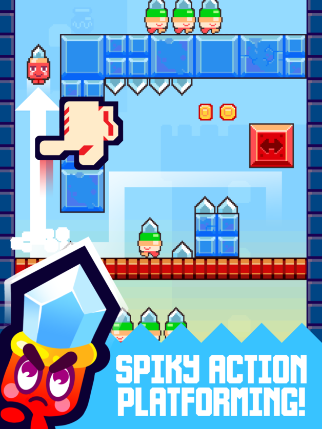 Jeu du jour : Spike City (iPhone & iPad - gratuit)