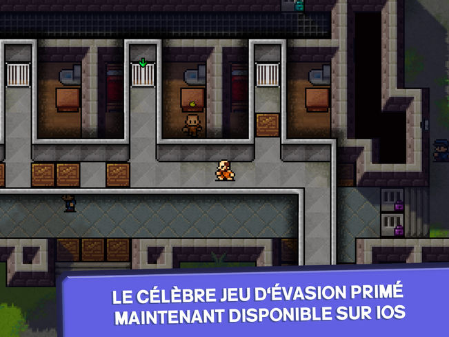 the escapists ios - Jeu du jour : The Escapists (iPhone & iPad - 5,49€)