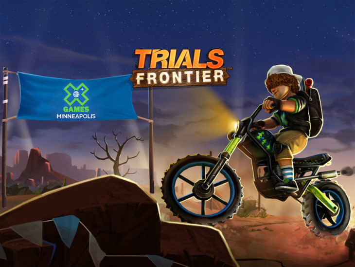 Jeu du jour : Trials Frontier (iPhone & iPad – gratuit)