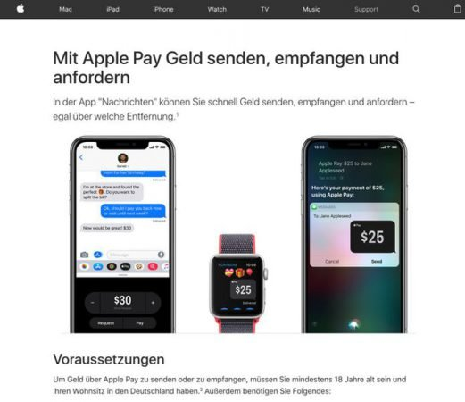 Apple Pay Cash : le service de paiement par iMessages bientôt en France ?