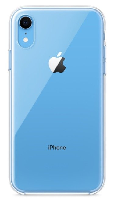 Coque Transparente iPhone XR - Apple proposera une coque transparente pour l'iPhone XR